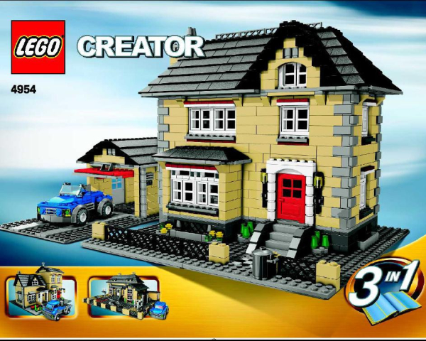 LEGO® Creator Set 4954 – Town House -brixinvest.net